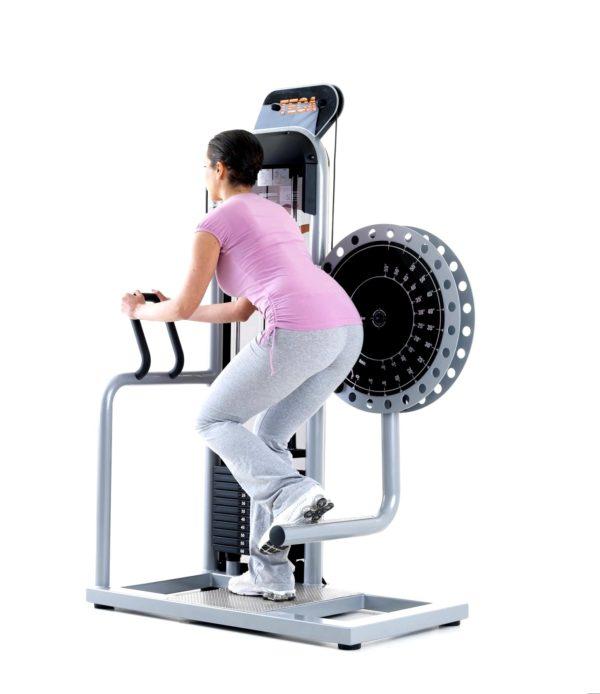 TECA SP320 Gluteus kick machine