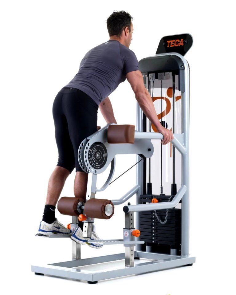 TECA SP 120 Standing leg curl machine