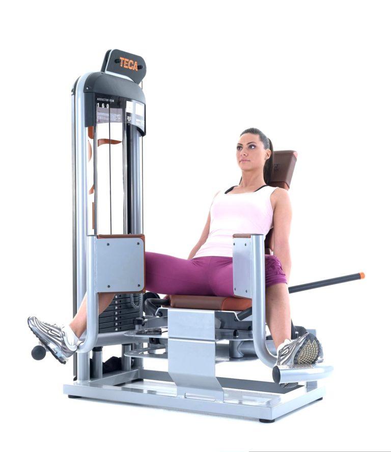 TECA SP160 Abductor gym equipment