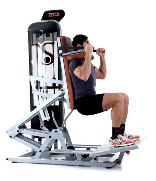 TECA SP180S Advanced hack squat machine