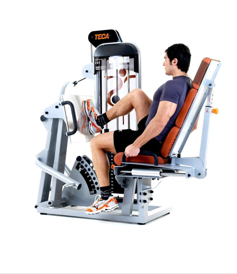 TECA SP200S Seated leg press gym tool