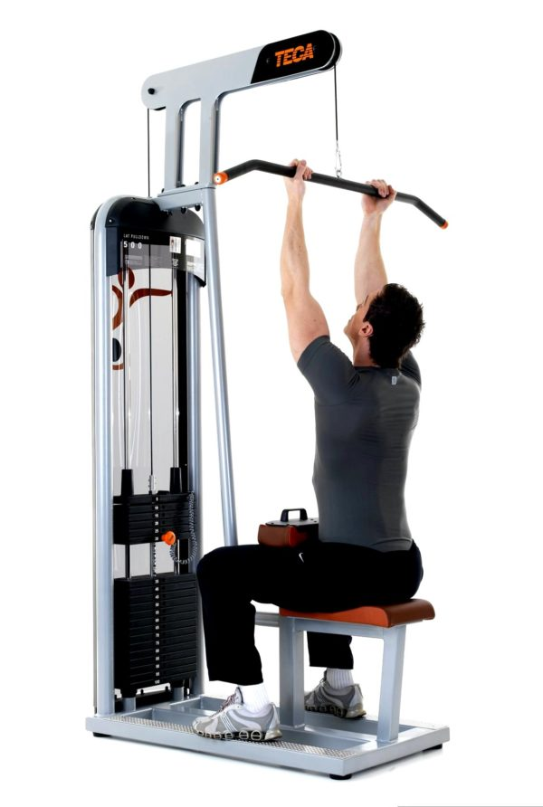 TECA SP500S Lat pulldown fitness equipment