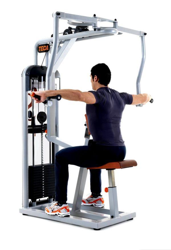 TECA SP550S Rear delt fitness machine