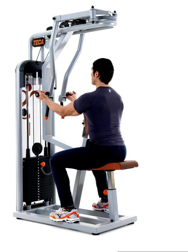 TECA SP550S Rear delt fitness equipment