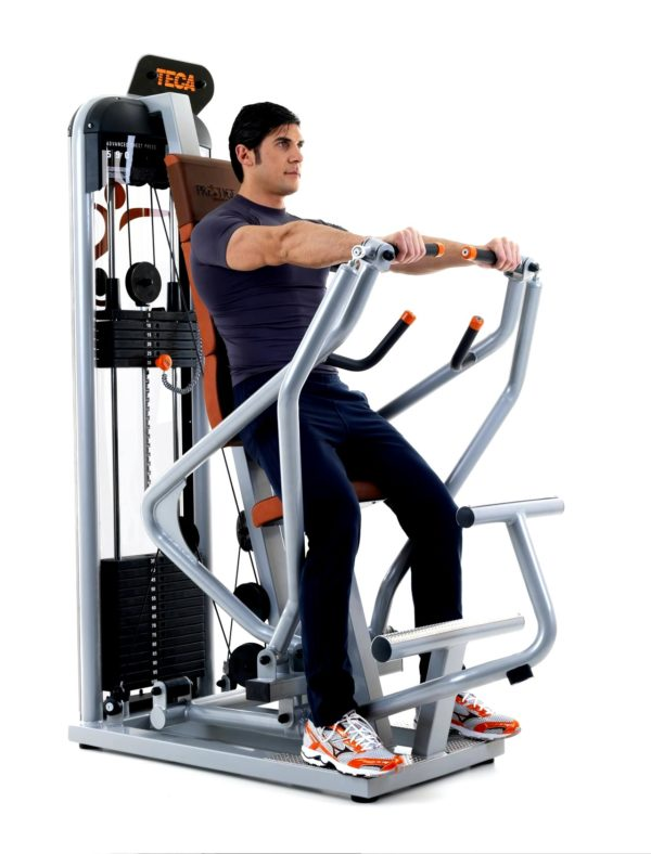 TECA SP590S Advance chest press gym equipment