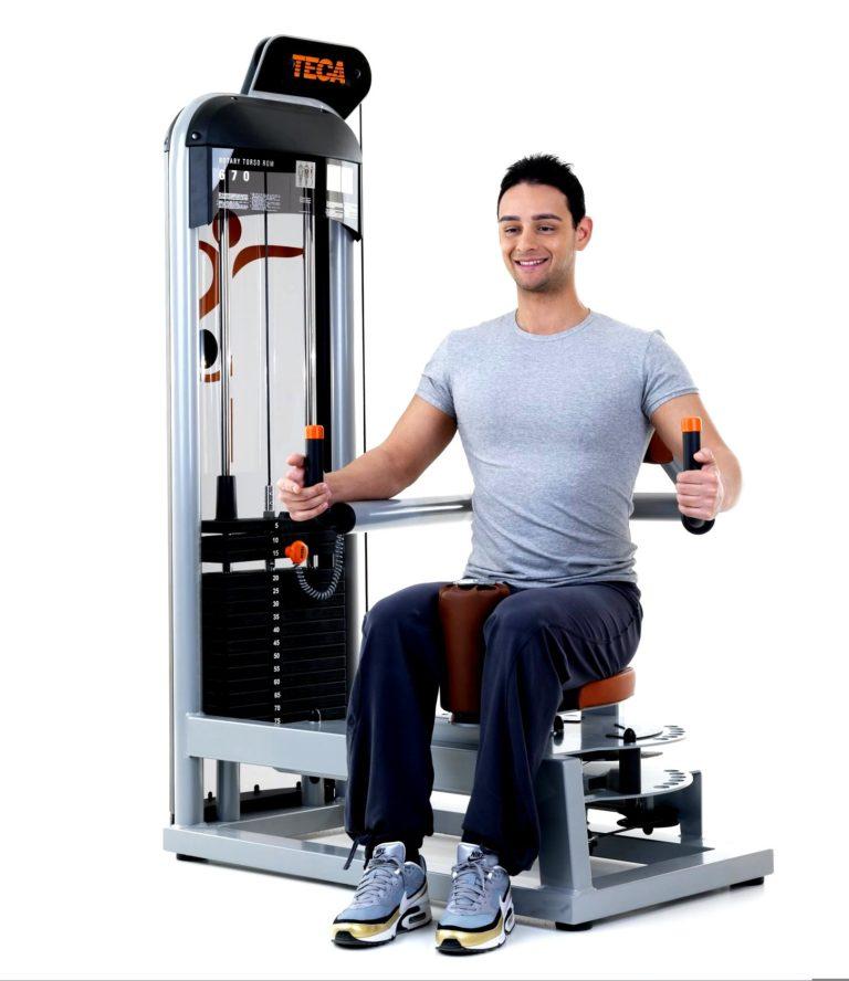 TECA SP670S Rotary torso fitness equipment