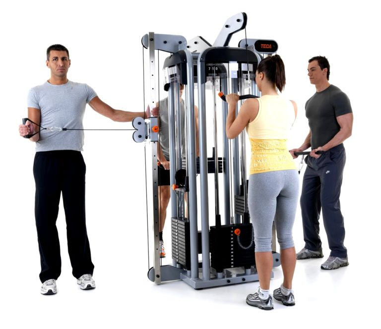 TECA SP780 Two triceps multiuse station machine