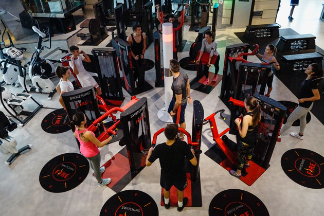 switching attrezzi fitness