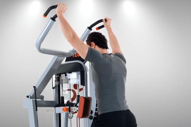 shoulder press teca fitness