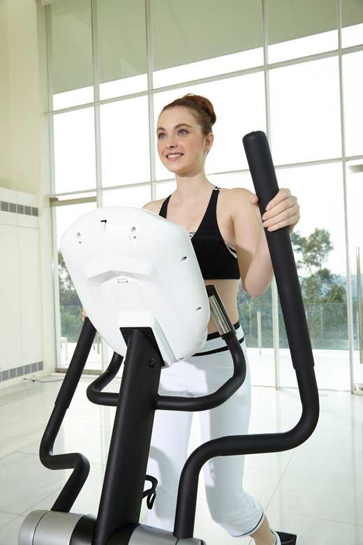 allenamento cardio fitness crosstrainer