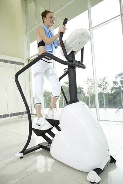 allenamento cardio fitness step