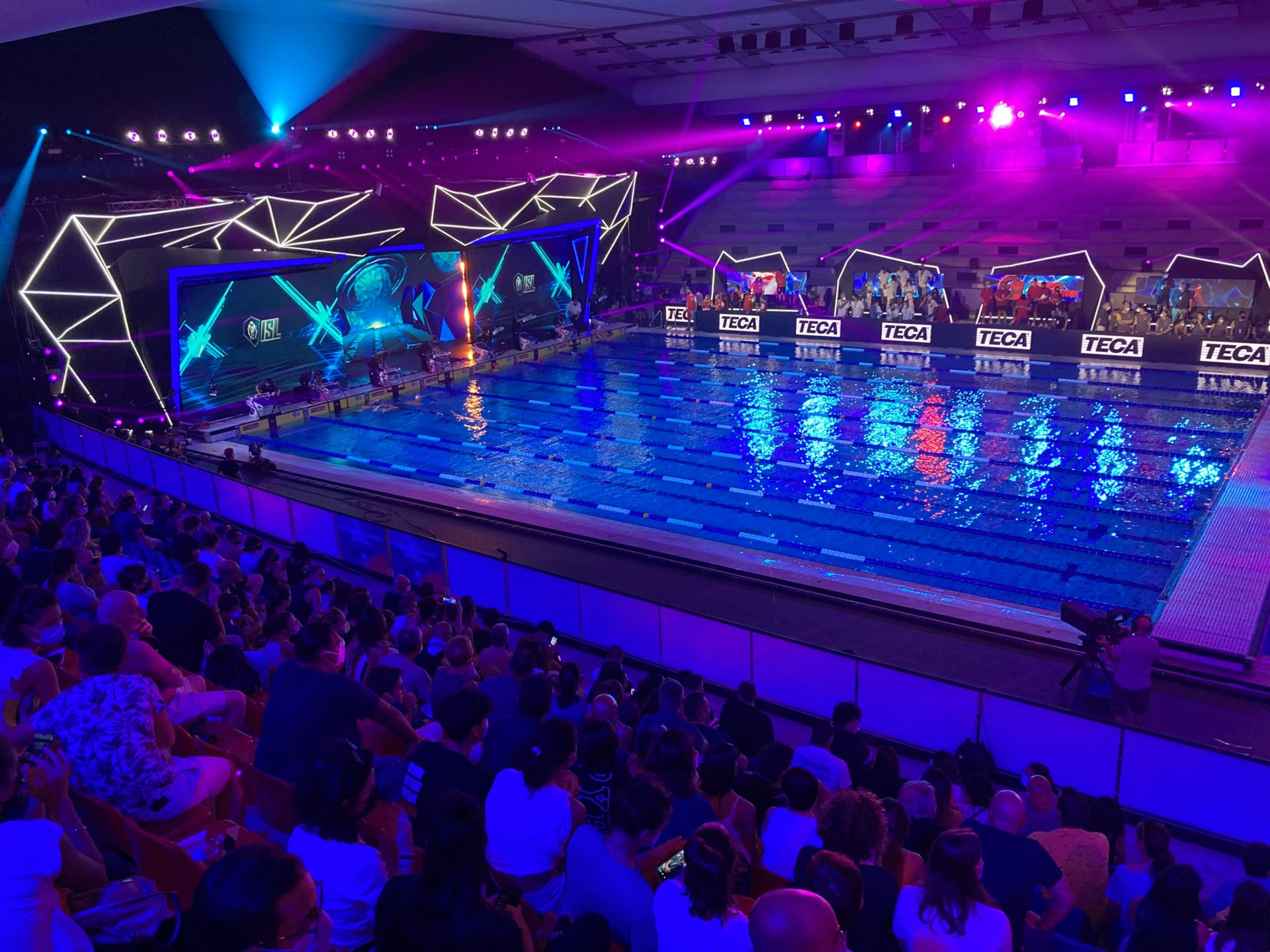 TECA Attrezzi Fitness Sponsor Tecnico International Swimming League